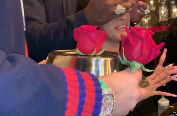 PHOTOS: Offset gifts Cardi B massive diamond ring for her 27th Birthday