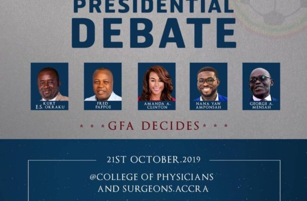 WATCH LIVE: Ghana Football Association presidential debate