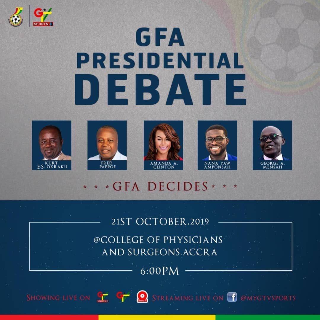 WATCH LIVE: Ghana Football Association presidential debate