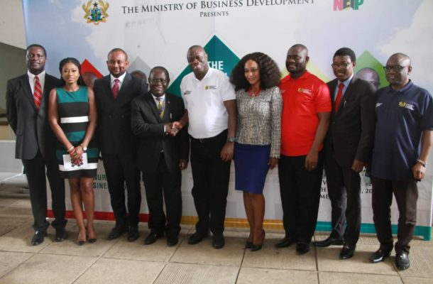 Business Ministry launches GHC3m Campus Business Pitch