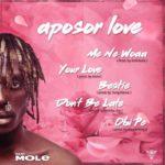 "Kofi Mole releases 5 track EP titled ""Aposor Love"""