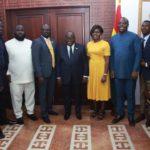 Newly GFA boss pays courtesy call on President Akufo-Addo