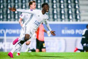 Ghanaian winger Kamal Sowah wants to naturalize for Belgium