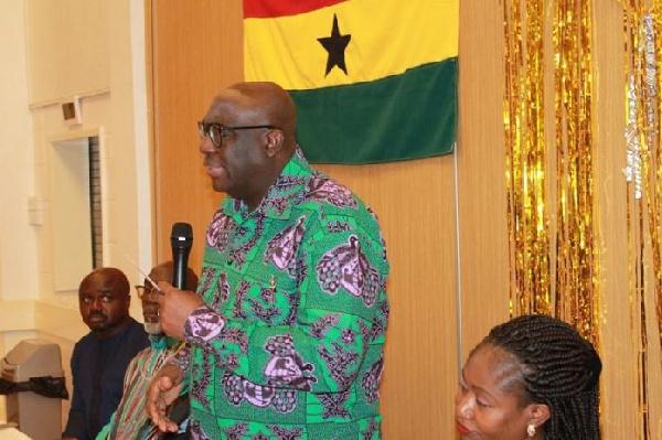 Gov't delegation from British Virgin Islands calls on Papa Owusu-Ankomah
