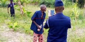 Atebubu: 77-year-old ganja farmer arrested; 2-acre weed farm destroyed