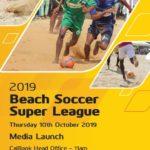 Ghana Beach Soccer to launch 2019 Cal Bank Super Cup on Thursday