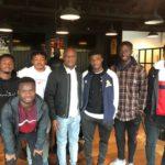 Black Stars coach Kwasi Appiah visits Ghanaian players at FC Nordsjaelland