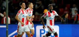 VIDEO: Richmond Boakye Yiadom scores in Red Star Belgrade's win over Olympiacos