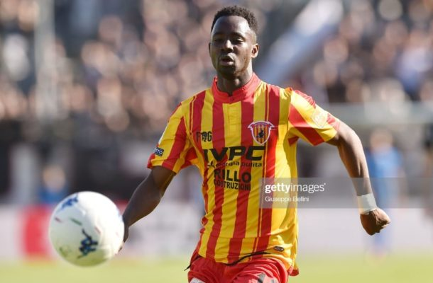 Bright Gyamfi set to leave Benevento
