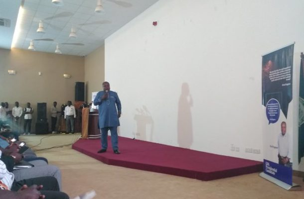 GFA Elections: Fred Pappoe launches manifesto