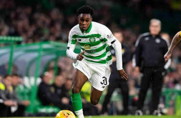 VIDEO: Dutch-born Ghanaian Jeremie Frimpong scores first ever goal for Celtic