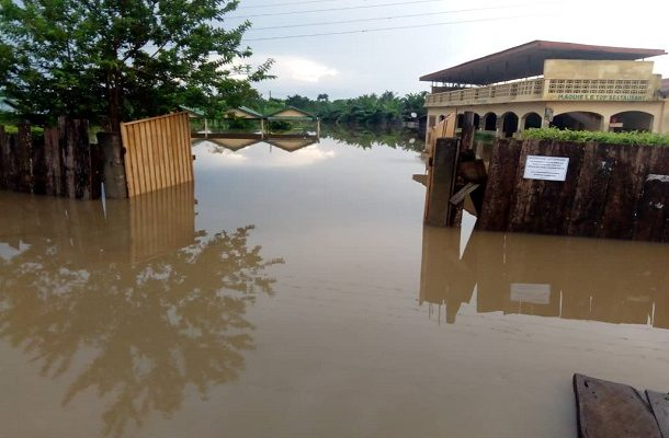 Western North: Enchi residents suffer floods again