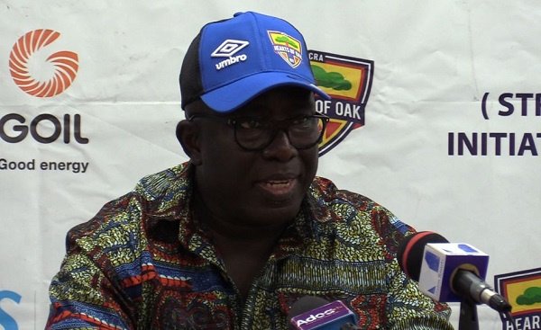 Frederick Moore is still contesting for a seat at the Exco - Opare Addo