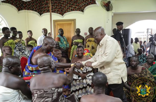 """Remain focused, deliver on your mandate"" - Otumfuo to Akufo-Addo"