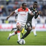 Bernard Tekpetey set to miss Fortuna Dusseldorf's Bundesliga game against Paderborn