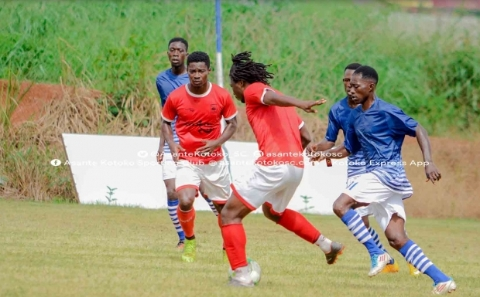 forgotten man Sogne Yacouba grabs a hat trick as Kotoko beat BYFA in friendly