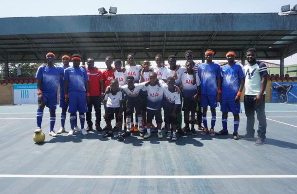 Eastern Region's Invincible Stars win novelty Blind soccer league