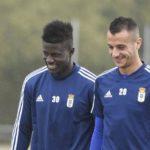 Samuel Obeng returns to Real Oviedo training