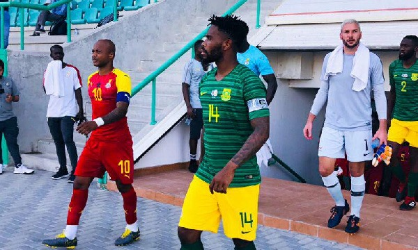 Afcon 2021 Qualifier: Ghana tame Bafana Bafana in Cape Coast
