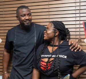 2020 Polls: John Dumelo dey for you – Lydia Forson tells residents of Ayawaso West Wuogon