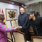 PHOTOS: Jack Ma, Ban Ki-Moon, Jet Li and others visit President Akufo-Addo