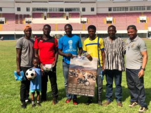 PHOTOS: 4-year old boy shows up for Ghana U-15 scouting in Tamale