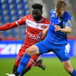 Jonah Osabutey helps Mouscron earn a draw away