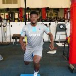 Ekuban back in the gym after two months injury lay-off