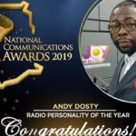 Hitz FM's Andy Dosty wins 'Radio Personality of the Year' at 2019 NCA