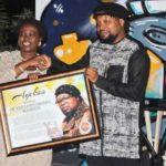 Knii Lante honoured by the trust hospital