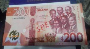 PHOTOS: BoG introduces GH¢ 100, GH¢ 200 Banknotes