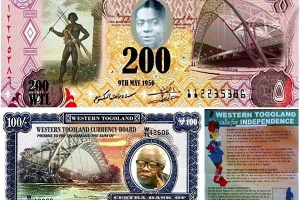 Togolanders print own flag, currency