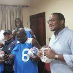 PHOTOS: Togo FA boss, former keeper donate Etoile Filante Du Lome