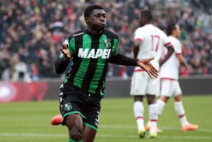 Ghanaian midfielder Alfred Duncan on Inter Milan radar