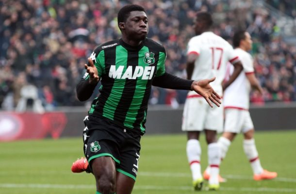 Sassuolo coach pulls the brakes on Alfred Duncan's transfer