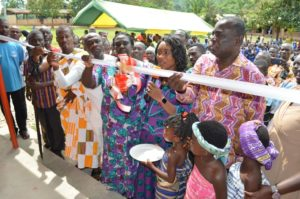 Deputy Finance Minister builds 3-unit classroom block for Ankaase community