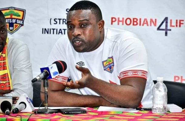 Hearts of Oak supporters chief happy with Kim Grant's work so far
