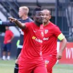 Asamoah Gyan scores for NorthEast United in Indian Super League