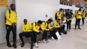 PHOTOS: Bafana Bafana arrive in Ghana for Afcon qualifier