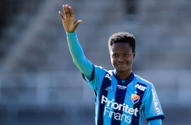 Exclusive: Ghanaian star Portia Boakye extends Djurgården IF stay