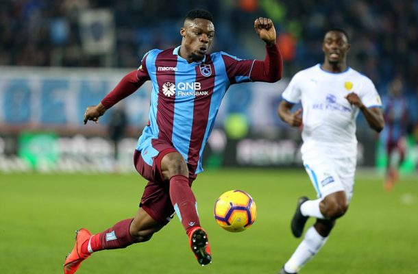 Black Stars striker Caleb Ekuban close to injury return after months out