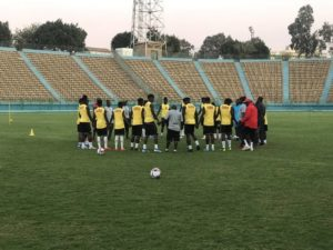 VIDEO: Black Stars final training session in Sao Tome and Principe