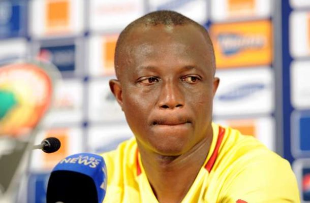 Kwasi Appiah not thinking about Black Stars future