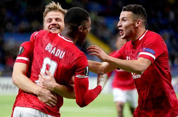 Red hot Myron Boadu scores a brace as Az Alkmaar stun Astana