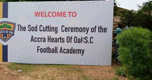 PHOTOS: Hearts cut sod for construction of Pobiman academy project