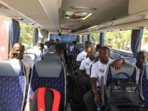 PHOTOS: Black Stars travel to Cape Coast ahead of Bafana Bafana clash