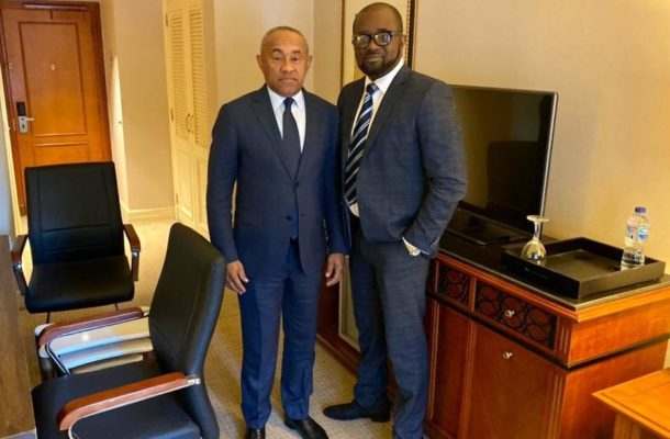 Caf president assures Kurt of total support