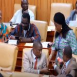 Don't sleep - Ada MP distributes chewing gum to colleagues during budget reading