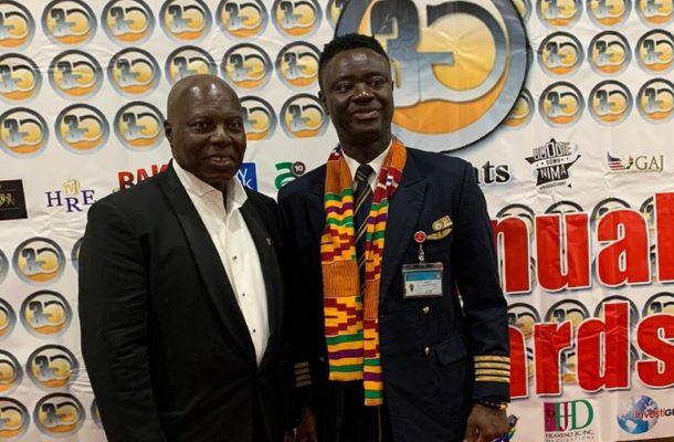 3G Awards: Ghanaian pilot Captain Solomon Quainoo honoured as '3G Pilot of the Year'
