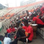 VIDEO : Angry Kotoko fans attack team bus in Abidjan after Confederations Cup elimination